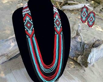 Beaded necklaces,beaded jewerly, beaded earrings, beaded