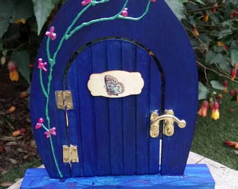 Hand painted fairy door