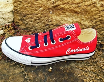 St Louis Cardinals Converse Chuck Taylor Sneakers