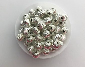 Alloy spacer beads 8mm