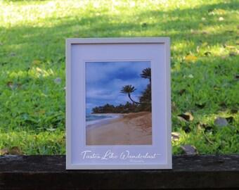 Framed Print 8x10 || Sunset Beach, Oahu - Hawaii