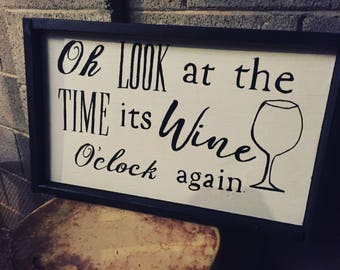 Its wine oclock