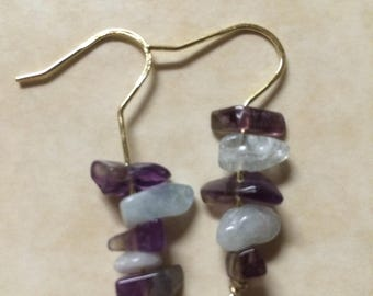 Amethyst & Blue Quartz