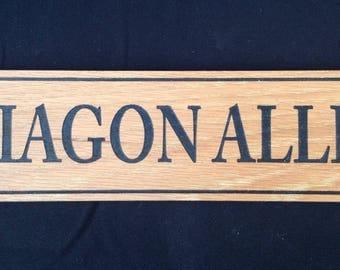 Diagon Alley Plaque