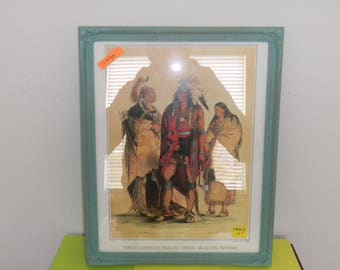 Framed Limited Edition of Native Americans