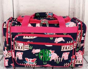 Pig Duffle Bag