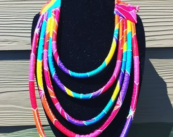 African Rope Necklace