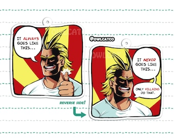 BNHA All Might Charm
