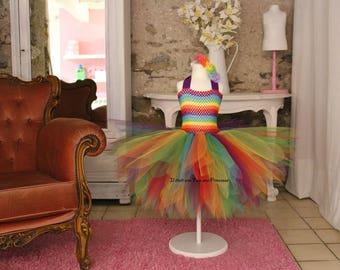 Tutu, Rainbow tutu dress
