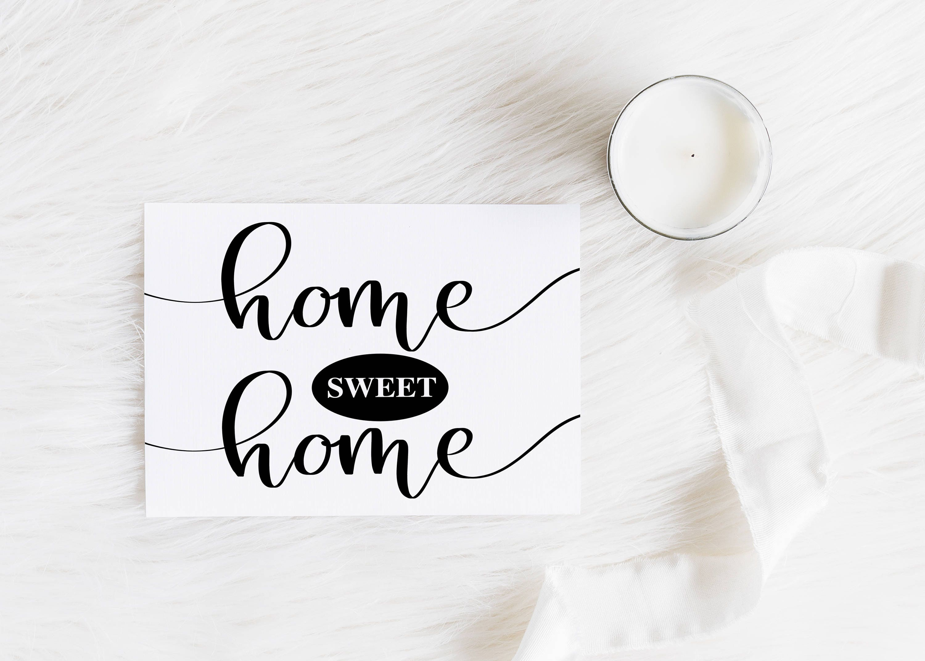 Sale Home Sweet Home Instant Download Printable File Home