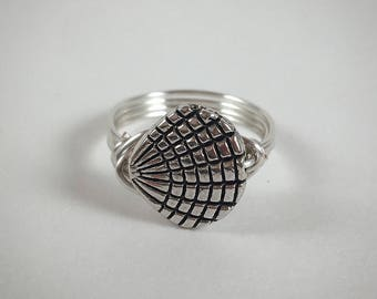 SUMMER SALE! 25% OFF -- Seashell Ring