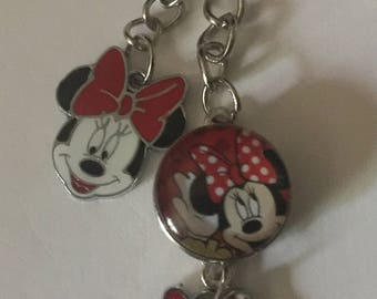 Minnie Mouse Keychain