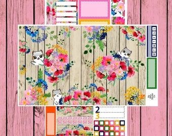 Spring Bouquet - Itty Bitty Kitty - 2 page mini kit