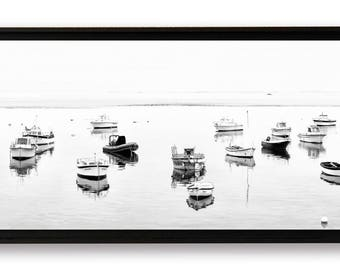 "Panoramic ""Le mullein Port"", fine art on Alu Dibond laminated and mounted in a crate American"