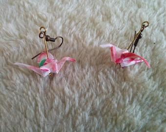 """""""Birds in flight"""" earrings"""