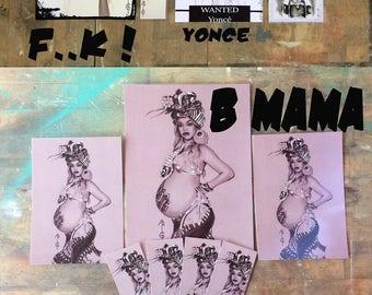 Beyonce (Formation, Run the world, Mrs Carter) - Artwork Fanart ( RETRO PHOTO)