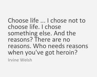 Irvine Welsh Zitat