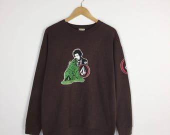 Rare !! VOLCOM sweatshirt Medium size