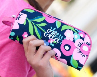 Monogrammed Pencil Pouch, Personalized Pencil Pouch