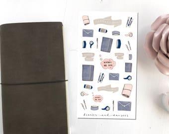 Stationery stickers Sheet
