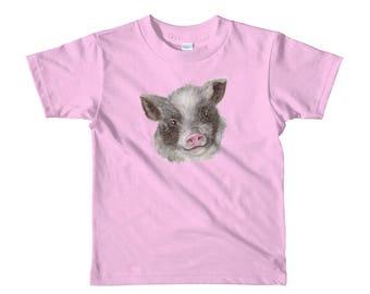 This Little Piggy Short sleeve kids t-shirt
