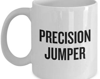 Parkour GIft Idea - Parkour Coffee Mug - Precision Jumper - Freerunning Gift