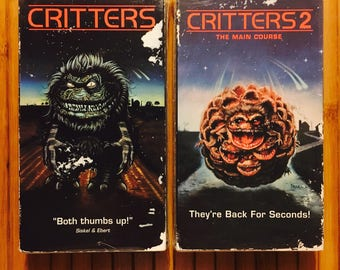 Critters 1 & 2 (VHS, '95) Cult Horror Movies