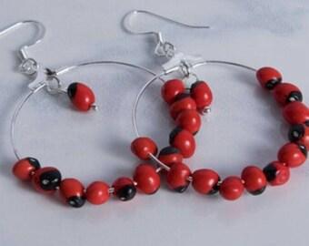Red Bean Earrings