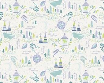 Neverland Lantern Cream nu Jill Howarth for Riley Blake Fabrics
