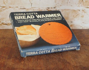 1980's Terra Cotta Bread Warmer