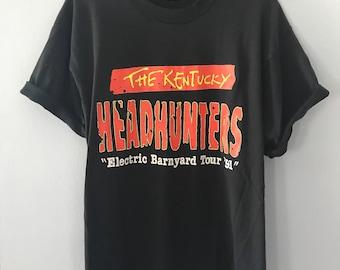 Vintage 1991 Kentucky Headhunters Electric Barnyard Tour T-Shirt XL