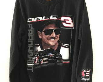 Vintage Dale Earnhardt Long Sleever Winners Circle NASCAR long sleeve T-Shirt