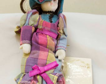 Kurt S Adler Collectors Doll - Victorian Style Doll Ornament