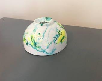 Swirled trinket bowl