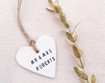 6cm Clay Gift Tags, Personalise Your Own Clay Tag