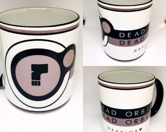 Custom Made Destiny 2 Dead Orbit Coffee Mug 15oz and 11oz Personalized