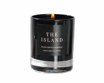 """The Island"" - 150g lemon & Vanilla scented candle"
