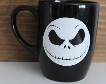 I'm a Nightmare Before Coffee 12 oz black coffee mug