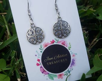 Symbol Charm Earrings