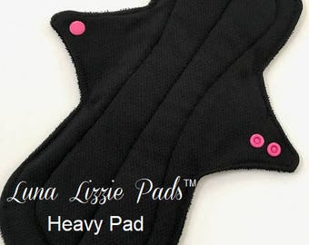 Cloth Pad - HEAVY FLOW/Cloth Menstrual Pad/Stay Dry Menstrual Pad/Reusable Pad/Incontinence Pad/Mama Cloth Pad