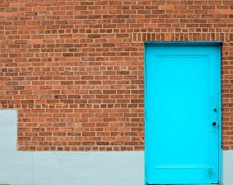 Blue Door. 2017