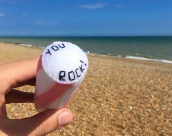 You Rock! Felt stick of Seaside Rock