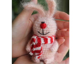 rabbit keychain, crochet bunny, rabbit doll keychain, crochet key chain, bunny keychain, bunny charm,crochet rabbit, homemade keychain