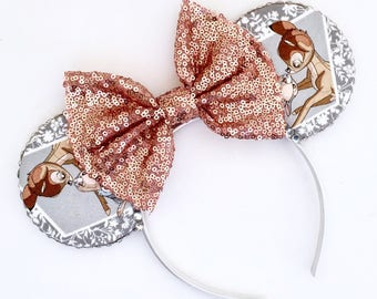 The Woods - Handmade Mouse Ears Headband