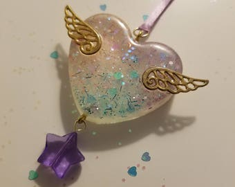 Magical Girl Heart Necklace