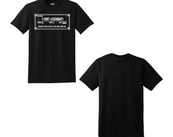 Skyrim Shirt, Skyrim T-Shirt, Skyrim, Skyrim Legendary T-Shirt, Skyrim Clothing, Cool Shirt