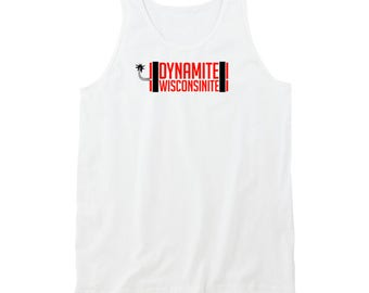 Dynamite Wisconsinite Shirt Original Wisconsinights White Tank Top