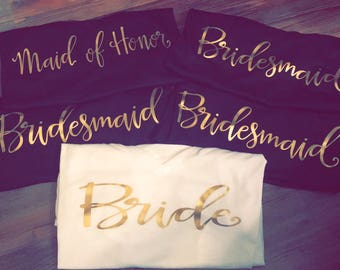 Bridesmaid Shirt | Bridesmaid Proposal | Bridesmaid Gift