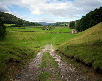 The View Down Dale - Photographic Print