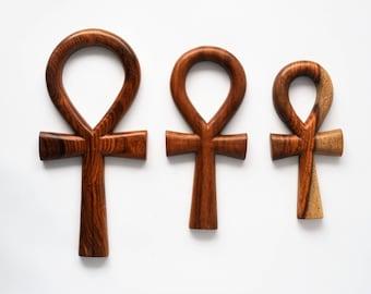 Ankh key, Wooden key of life, Souvenir, La croix de vie, ou croix Ankh,  Ankh-Taste, Wall decor, Religious, Egypt, Schlüssel des Lebens